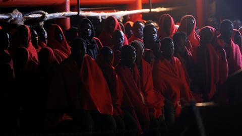 Spain rescues over 500 migrants in Mediterranean