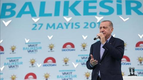 Turkish president slams opposition's election promises
