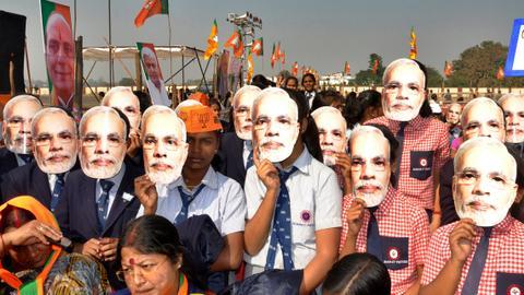 Modi's careful image cultivation