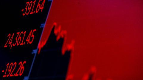 Asian shares fall sharply as Italian crisis hits world markets