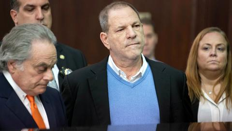New York grand jury indicts Weinstein on rape, sex crime charges