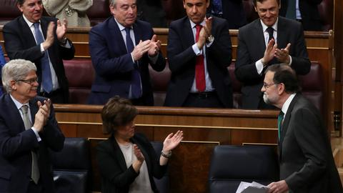 Spanish PM's future in balance as no-confidence debate starts