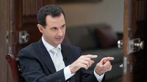 Syria's Assad says still pursuing political solution for rebel-held south