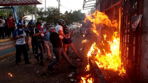 Nicaragua march ends in shooting amid calls for early vote