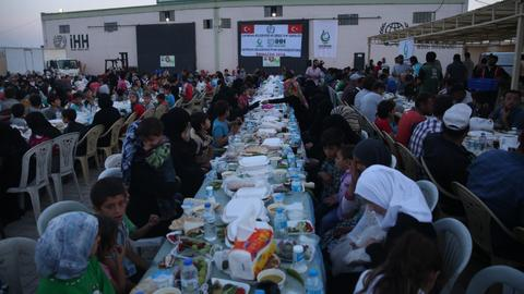 Turkish NGO provides Ramadan aid to over 100,000 Syrians