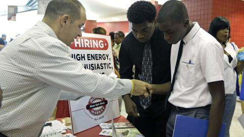 US gains 223,000 jobs bringing unemployment to an 18-year low