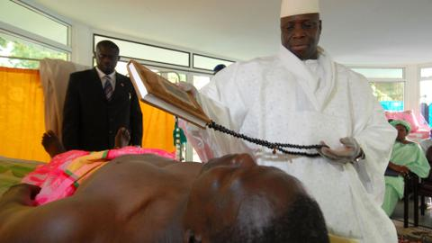 AIDS patients sue Gambia's ex-president Jammeh over fake cures