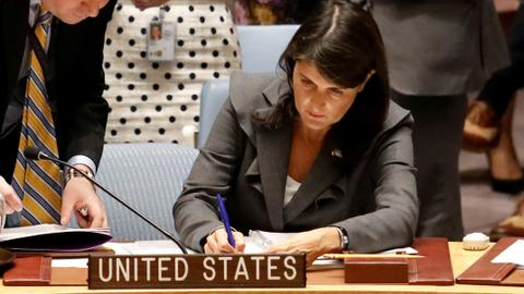 US vetoes UN resolution to protect Palestinians