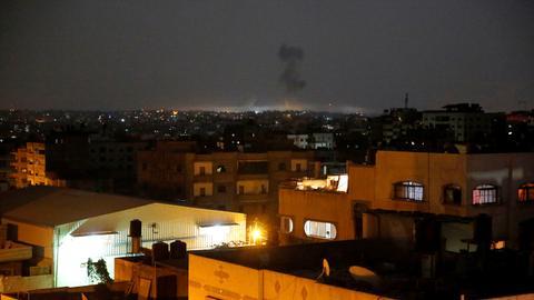 Israeli air strikes hit various locations across Gaza