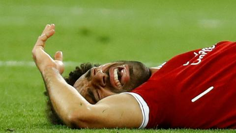 Egypt's performance affected by Salah's absence