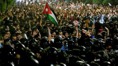 Jordan's King Abdullah expected to ask PM to resign