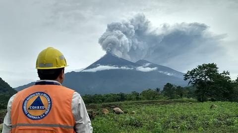 At least 62 killed by erupting volcano in Guatemala