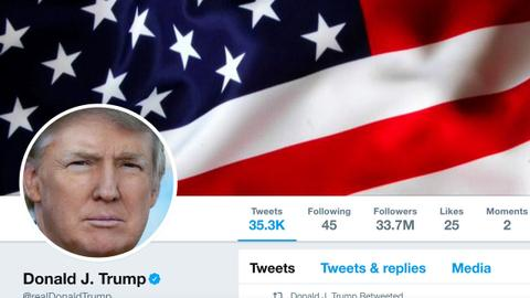 Washington to appeal ruling that Trump could not block Twitter users