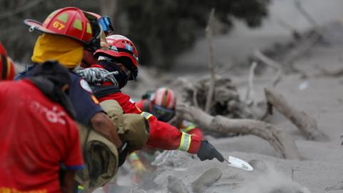 Toll from Guatemala volcano eruption rises to 69 as more bodies found