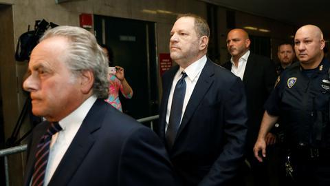 Harvey Weinstein pleads not guilty to rape