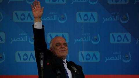 Iraqi PM Abadi warns of 'dangerous violations' in May election
