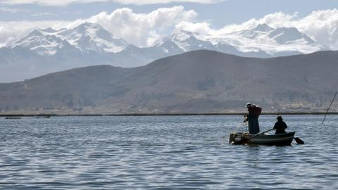 Cleaning up the 'sacred lake': locals tackle Titicaca pollution