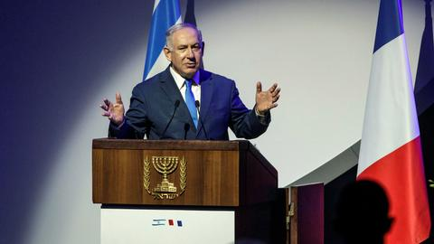 Netanyahu in UK as part of Europe tour against Iran's nuclear deal