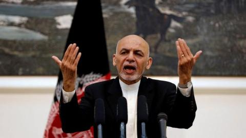 Afghan leaders trade barbs as government splits widen