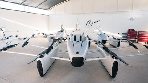 American flying car company offers glimpse into upcoming vehicle