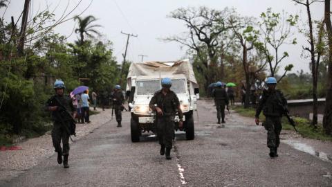 Teenage girl dies amid aid distribution chaos in Haiti