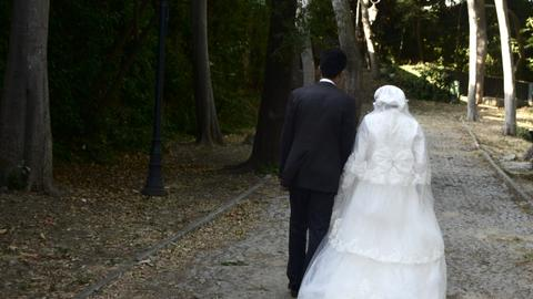 In love and war: the pursuit of a white wedding dress