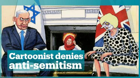 Guardian cartoonist Steve Bell angry after Gaza-related work spiked