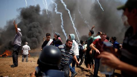 Israeli forces kill four Palestinians on 'Jerusalem Day'