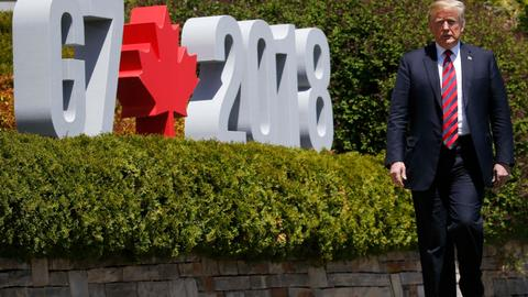 Trump deepens G7 divide with call to readmit Russia
