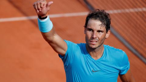 Nadal downs Del Potro to reach French Open final, faces Thiem for title