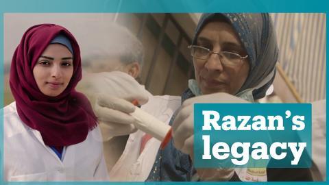 The family of the slain Palestinian medic Razan al Najjar has a message for you