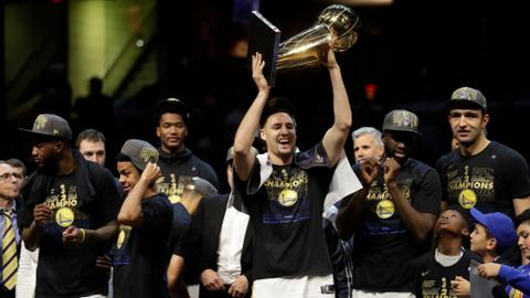 Warriors complete sweep of Cavaliers to claim NBA title