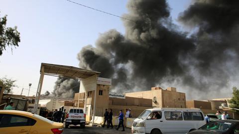 Calls for vote recount as Iraqi ballot box storage site catches fire