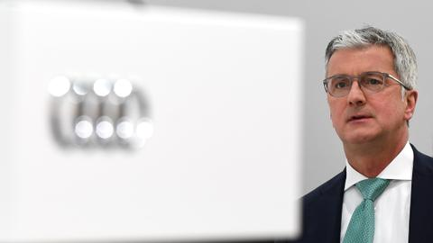 Audi CEO named as suspect in German emissions probe