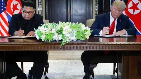In pictures: Trump-Kim summit