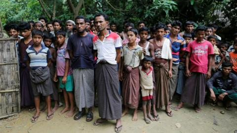 Myanmar army accused of raping Rohingya women
