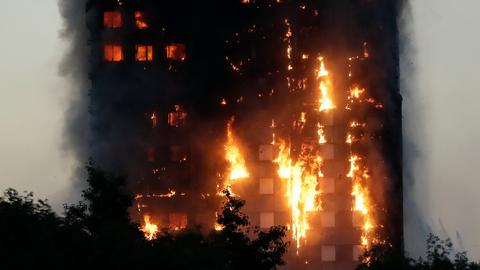 Mourning and anger dominate second Grenfell anniversary