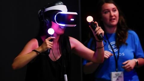New gaming tech offers the user enhanced, immersive virtual reality