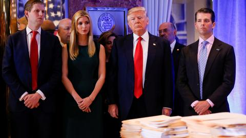New York sues Trump and his charity foundation