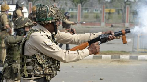 Protester killed, dozens injured in Indian-administrated Kashmir