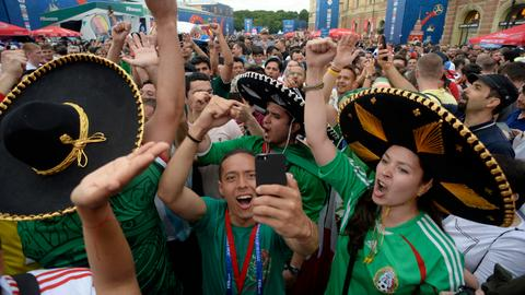 World Cup holders Germany slide to Mexico defeat