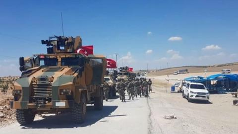 Largest tribe in Manbij backs Turkish patrol forces