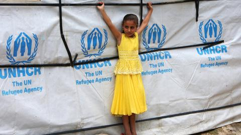 Record 68.5 million displaced in 2017, UN says