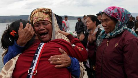 As many as 120 missing in Indonesian ferry disaster