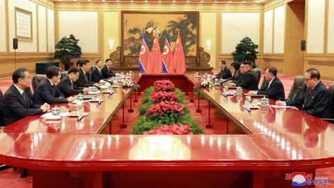 China, N Korea discuss 'true peace' on the Korean Peninsula
