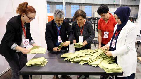 Record expat voter turnout for Turkey's elections