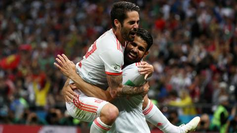 A lucky Spain?