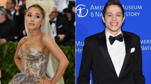 Comedian Pete Davidson confirms engagement to Ariana Grande