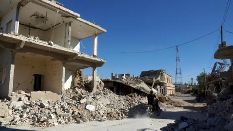 Syrian regime, Iran escalate attacks on southwestern Syria