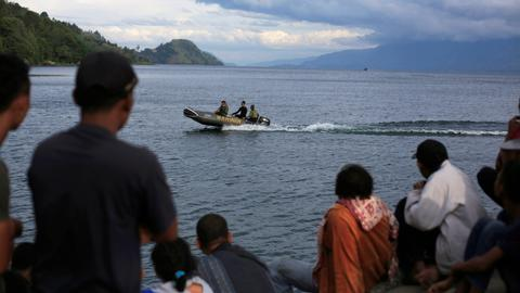 At least 190 feared dead in Indonesia ferry accident as search continues